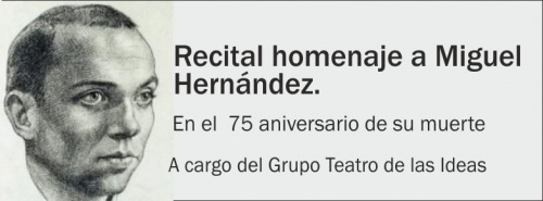 Recital homenaje a Miguel Hernández