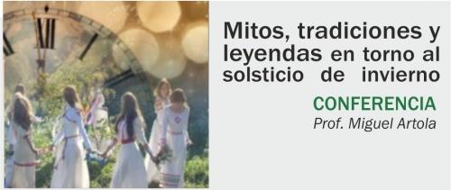 Conferencia: Mitos, tradiciones y leyendas en torno al solsticio de invierno