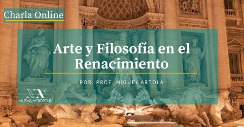 Charla Online: Arte y Filosofía en el Renacimiento