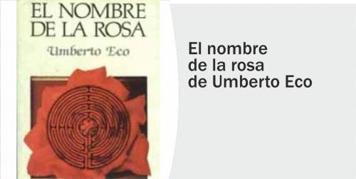 Tertulia en torno al libro: El nombre de la Rosa