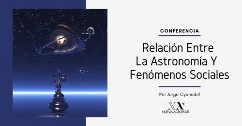 Conferencia: Sincronismo Astronómico y Fenómeno Social