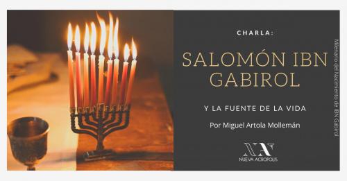 Charla: Salomón Ibn Gabirol y la Fuente de la Vida